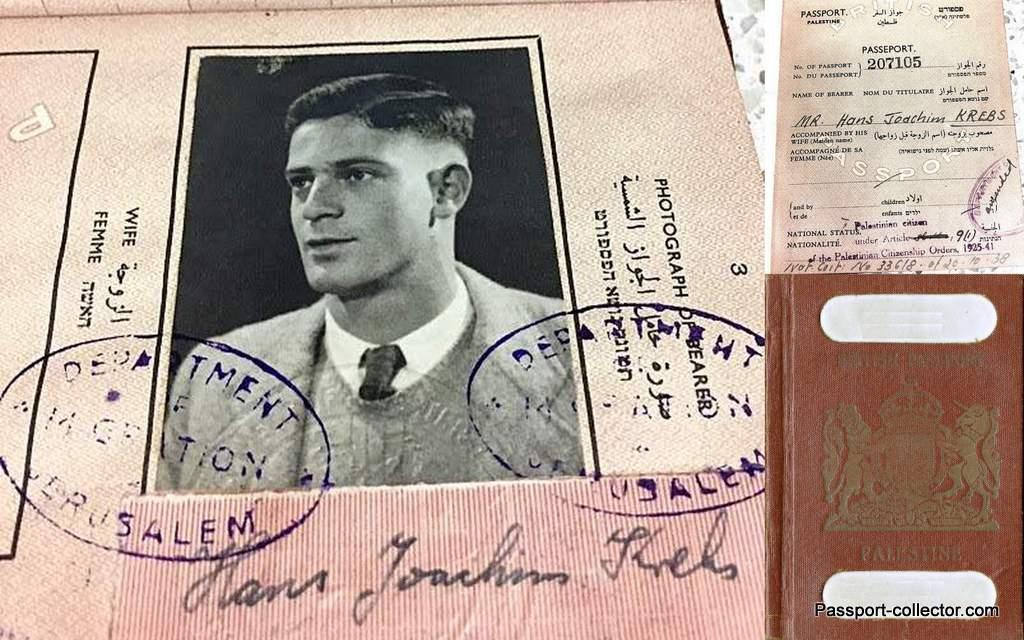 John Hans Krebs Passport