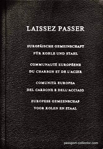First International Passport Europe 1953