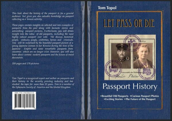 LET PASS OR DIE - A new Book about old passports and passport history
