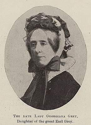 Lady Georgiana Grey & her Servant James Stiles