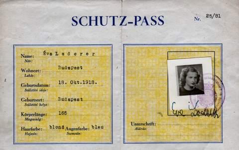 Important Raoul Wallenberg Schutzpass Found In Budapest