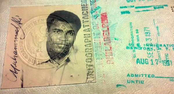 US passport 1971 Muhammad Ali