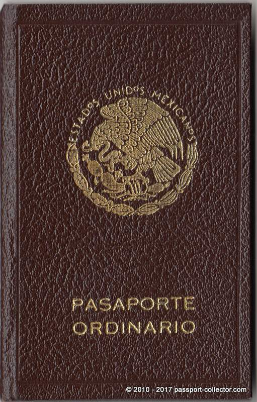 Fantastic Mexican Passport 1941 For A Beautiful Woman
