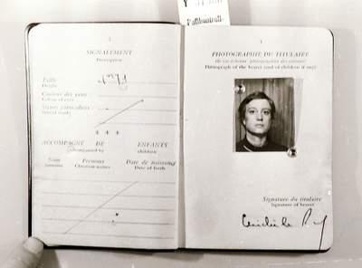 Stasi and RAF: French Passport of Ulrike Meinhof