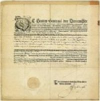 The Oldest Printed Passport Of The Netherlands, really?