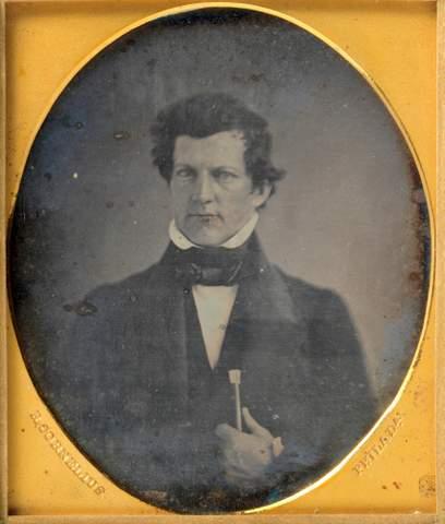 Aeronaut and Inventor S. Andrews Passport 1852