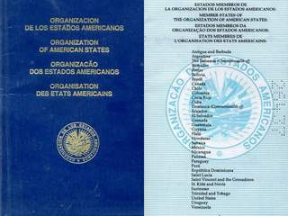 Organization Of American States – Travel Document