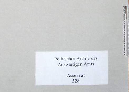 Visit at the Political Archive – Federal Foreign Office II
