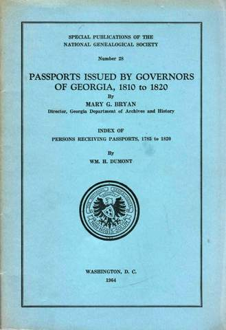 Passports issued by the Governors of Georgia