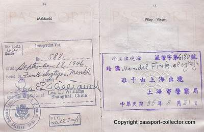 Jewish Escape to Shanghai and US-Immigration