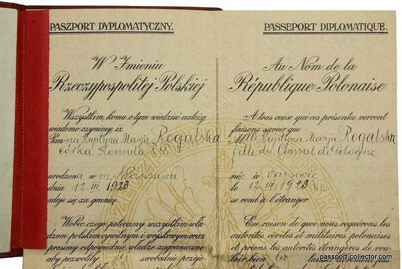 Polish Diplomatic Passport