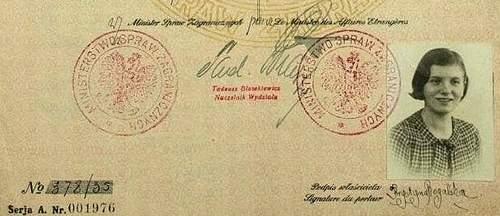 Polish Diplomatic Passport – Consuls' Daughter