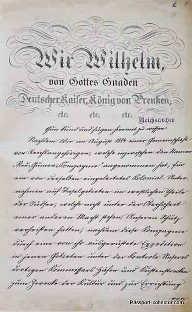 Colony German New Guinea