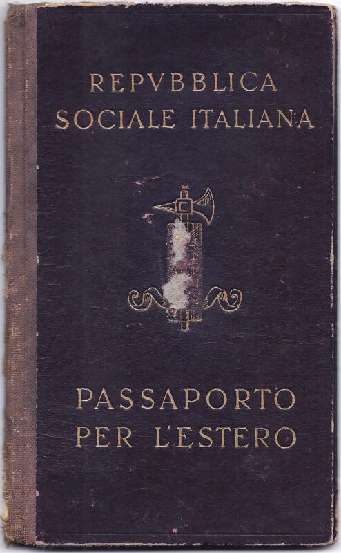italian social republic passport