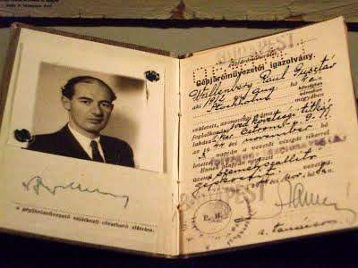 This is the diplomatic passport of Raoul Wallenberg