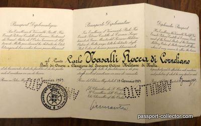 Sovereign Military Order of Malta – Passport