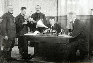 Third Reich Service Passport – Musicologist Prof. Schünemann