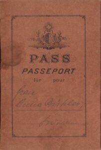 Canton Lucerne Passport Booklet