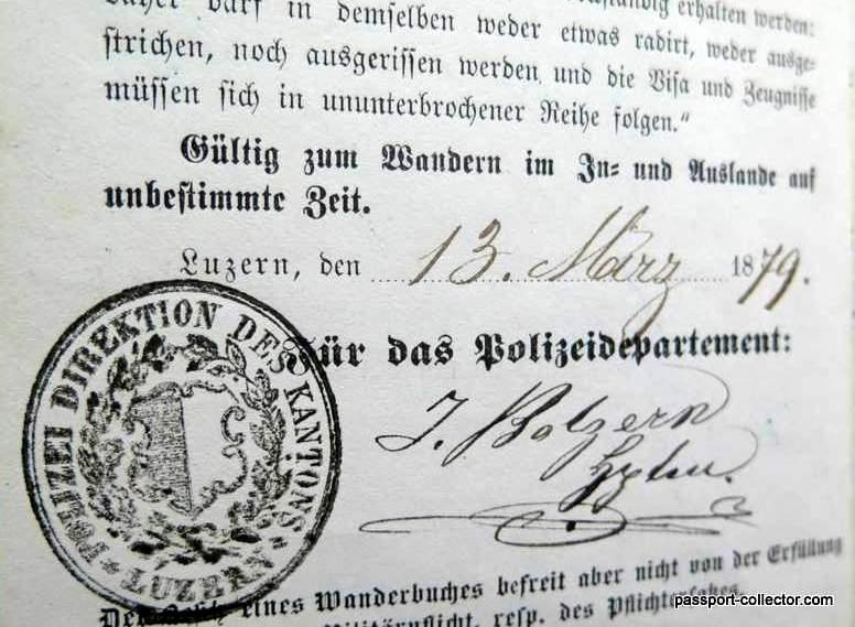 Swiss Journeyman Book Passport