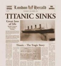 Passport Of Titanic Survivor Edith Brown Haisman