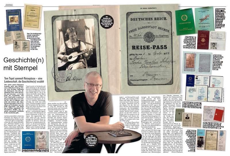 Tom Topol - passport-collector.com