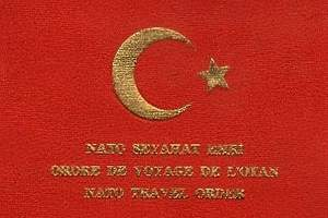 Turkish NATO Travel Document Includes Cosmic Security Clearance