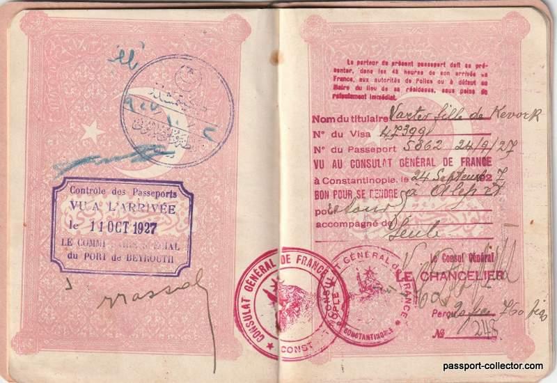 Rare Turkey Republic Passport