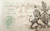 The Passport Of Captain Francis Garratt