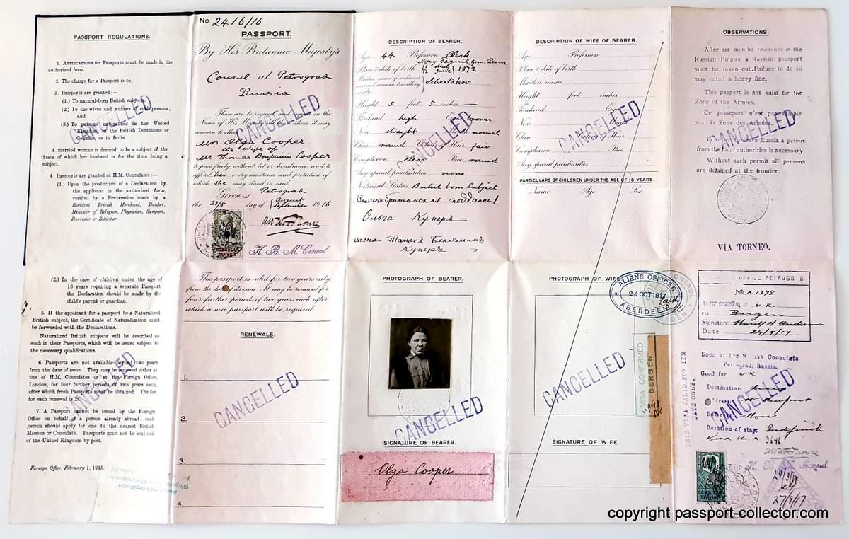 British Consul Woodhouse Petrograd