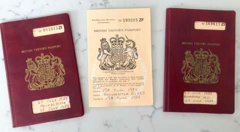 British Visitors Passport
