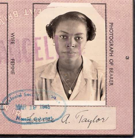 Bahama Island Passport 1945 Colonial Office