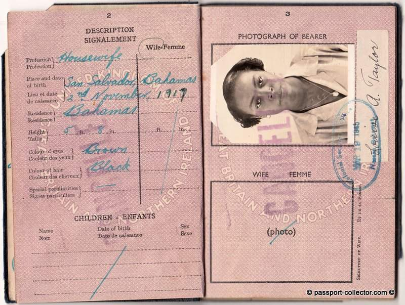 Bahama Island Passport