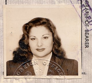 The British Passport Of  A Secret Service Agent's Wife