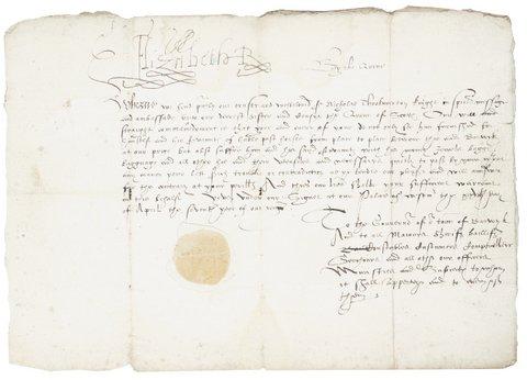 Elizabeth I – Queen of England Passport