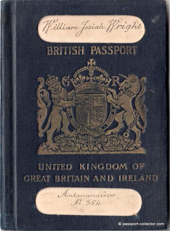 British passport 1926