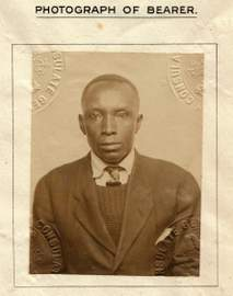 Black/African/Caribbean/Black British Passports