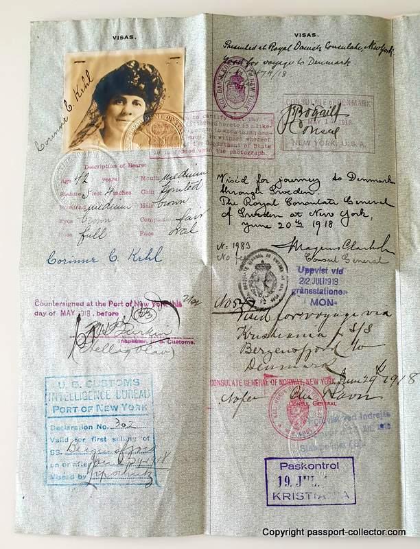 US Diplomatic Passports Kehl