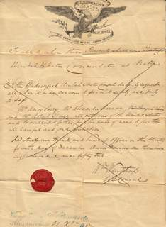 Rare US Group Passport 1852 – Consulate Malta
