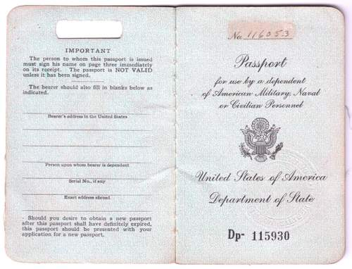 US Passports for Military Personnel & Dependents