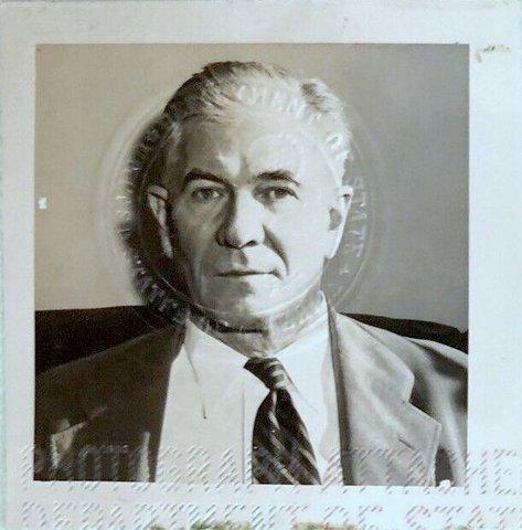 US Senator Absalom Willis Robertson – Special Passport