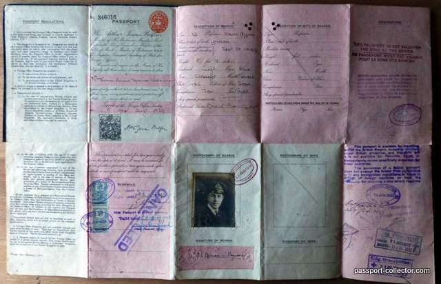 Passports Thomas Spenser-Wilkinson