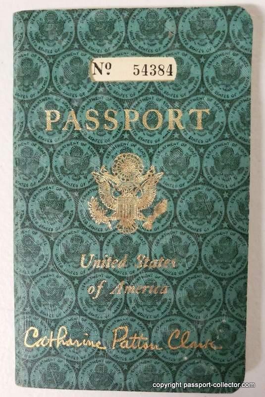 US passport unique cover