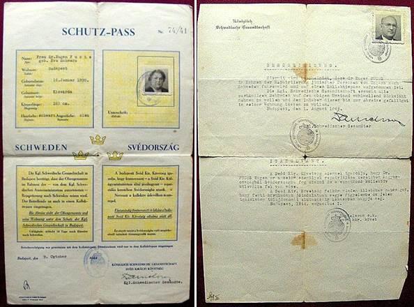 Wallenberg Schutzpass FUCHS Olympic Gold medal 4 times