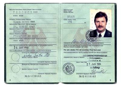 Stasi Spy and CIA Double Agent Werner Stiller