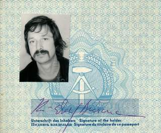 An East German Passport – Wolf Biermann – Singer-Songwriter-Dissident