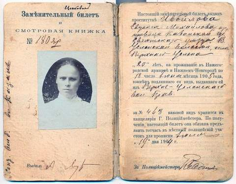 Lost documents of the USSR – A yellow ticket