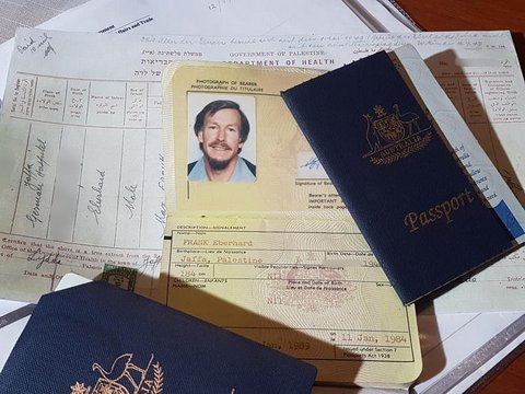 Man wins court battle to reinstate birthplace Palestine on his passport
