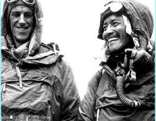 On Top Of The World - Edmund Hillary and Tenzing Norgay