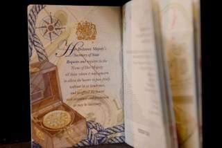New British Passport Launched Today