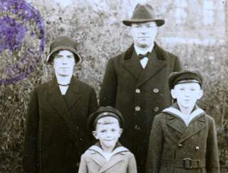 German Family Passport Tilsit – East Prussia